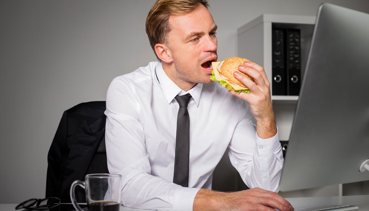 That's Why You Shouldn't Have Lunch At Your Desk