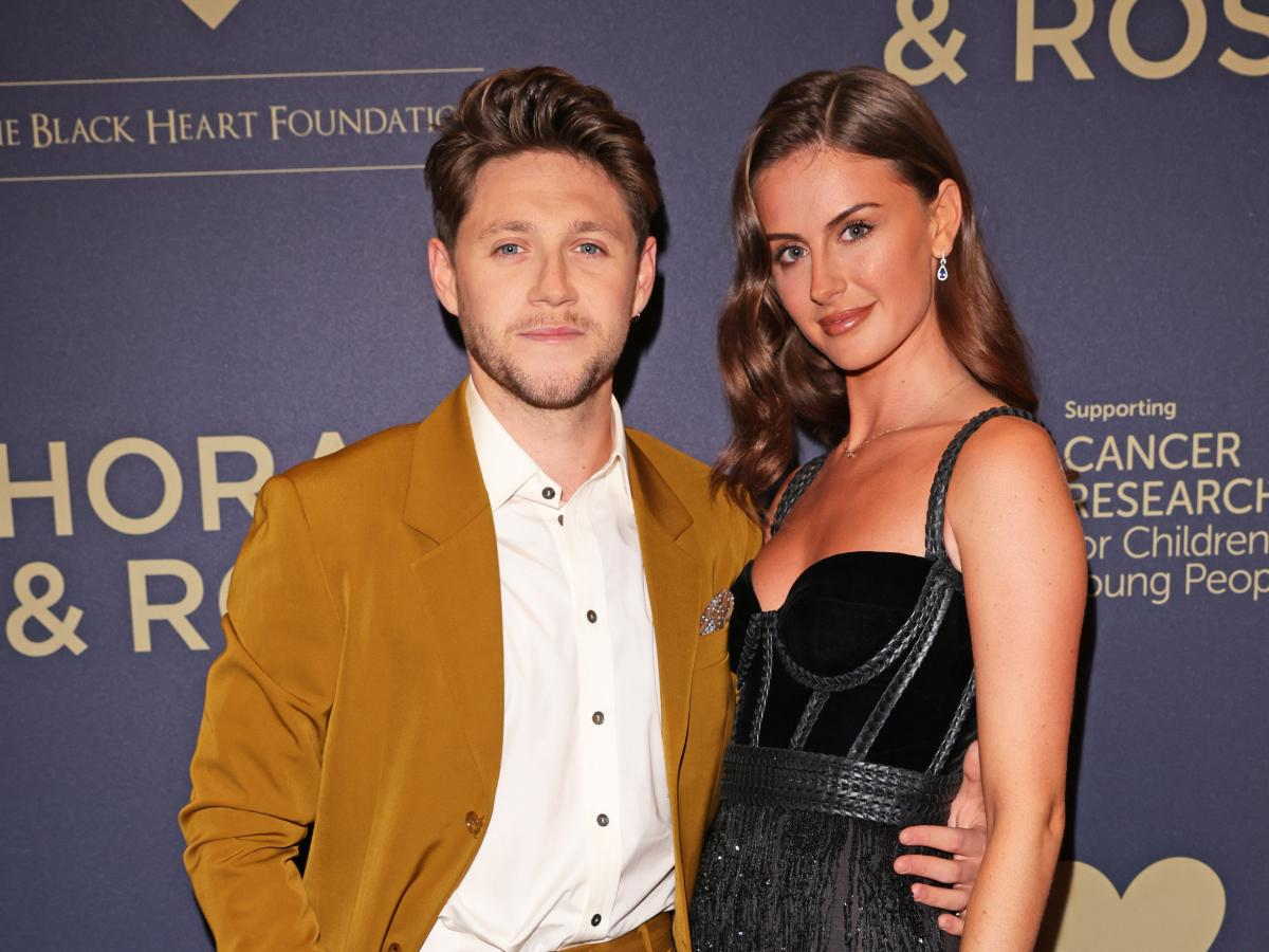 Niall Horan and Amelia Woolley